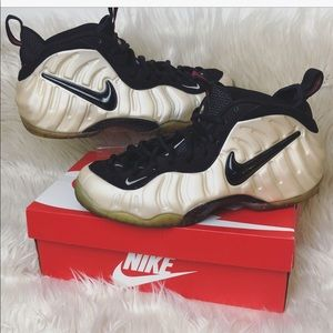 Men's Air Foamposites Pro Pearl | Size 12